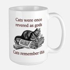 Cats As Gods Large Mug