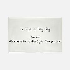 Alternative Lifestyle Companion Rectangle Magnet