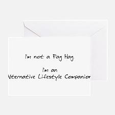 Alternative Lifestyle Compani Greeting Card