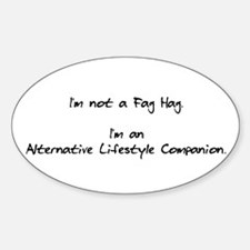 Alternative Lifestyle Companion Oval Decal