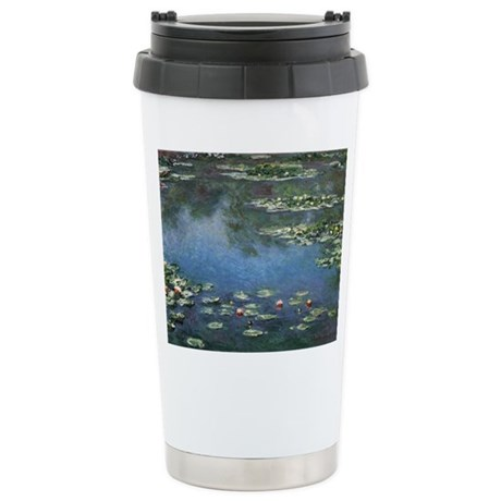 Waterlilies by Claude Monet Stainless Steel Travel