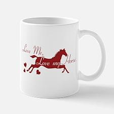 Horse Valentines Mug
