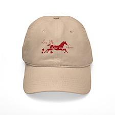 Horse Valentines Baseball Cap
