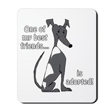 Adopted~Black&White Mousepad