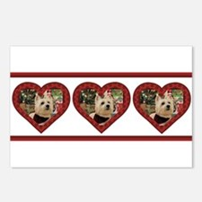 Humphrey 4 Tri Postcards (Package of 8)