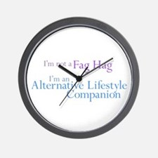 Alt. Lifestyle Companion Wall Clock