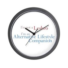 Alt. Lifestyle Companion Wall Clock