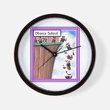 """Lemming School"" Wall Clock"