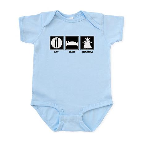 Eat. Sleep. Bhangra. Infant Bodysuit