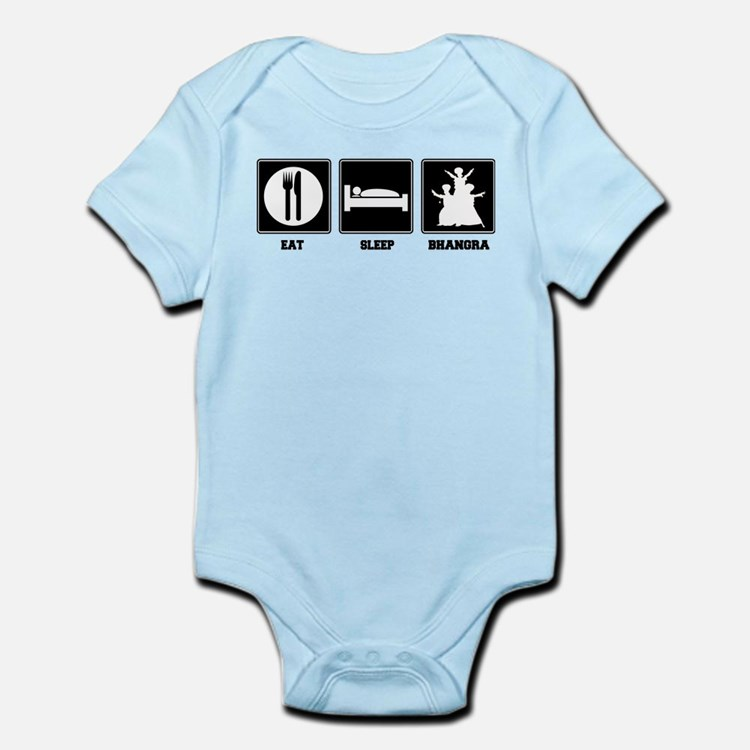 Eat. Sleep. Bhangra. Infant Bodysuit