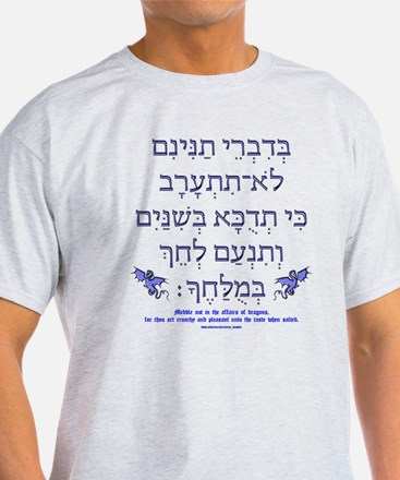 Affairs of Hebrew Dragons T-Shirt