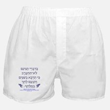 Affairs of Hebrew Dragons Boxer Shorts