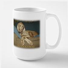 Old Dogs Rule-Jake Large Mug