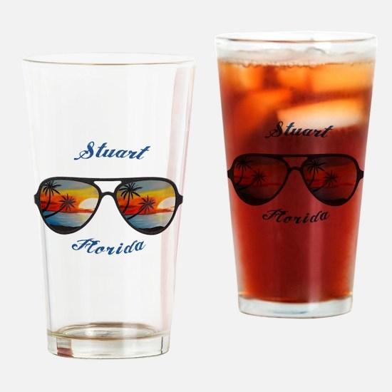 Florida - Stuart Drinking Glass