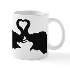 Love Elephant Valentine Mug
