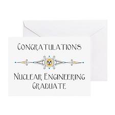 Nuclear Engineering Graduation Greeting Card