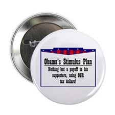"""""""Obama Payoff"""" 2.25"""" Button (10 pack)"""