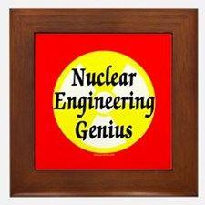 Nuclear Genius Framed Tile