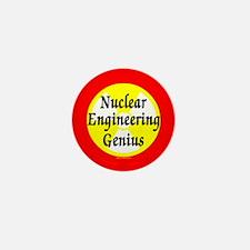 Nuclear Genius Mini Button