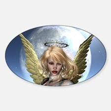 Guardian Angels Oval Decal