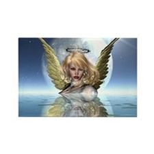 Guardian Angels Rectangle Magnet