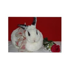 Sweetheart Bunny Rectangle Magnet