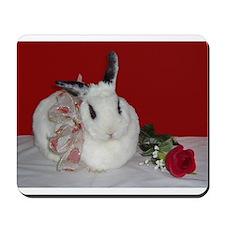 Sweetheart Bunny Mousepad
