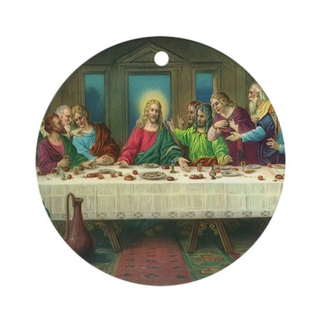 The Last Supper Ornament (Round)