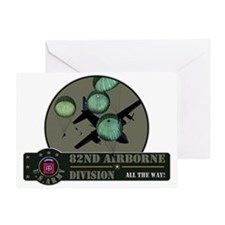 82nd Airborne Greeting Card