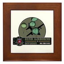 82nd Airborne Framed Tile
