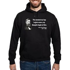 Henry David Thoreau 10 Hoodie