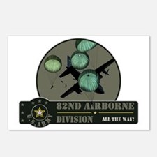 82nd Airborne Postcards (Package of 8)