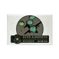 82nd Airborne Rectangle Magnet