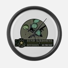82nd Airborne Large Wall Clock