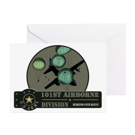 101st Airborne Greeting Cards (Pk of 20)
