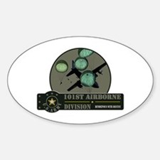 101st Airborne Oval Decal