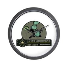 101st Airborne Wall Clock