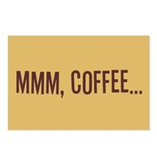Mmm Coffee Postcards (Package of 8)