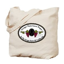 Grape Nuts Love Napa Tote Bag