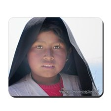 Taquile Girl - Mouse Pad