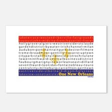 Cute Cajun flag Postcards (Package of 8)