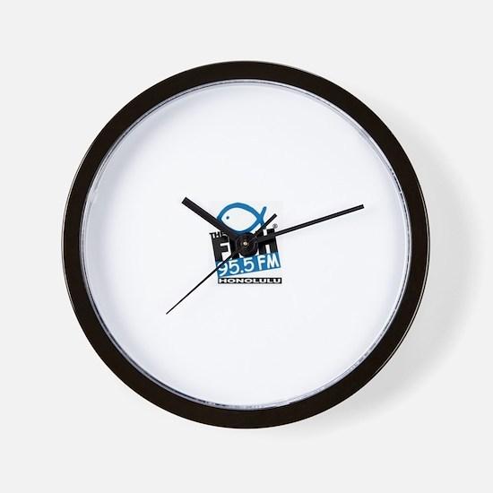Cute The fish honolulu Wall Clock