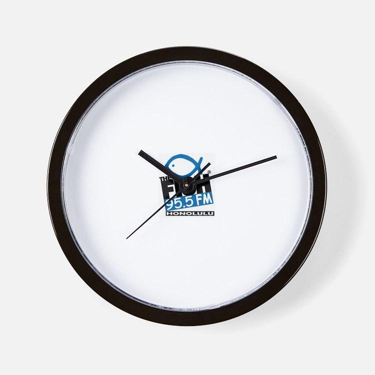 Cute The fish radio Wall Clock