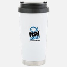 Cute The fish radio Travel Mug