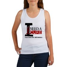 I Need A Cure HIV / AIDS Women's Tank Top