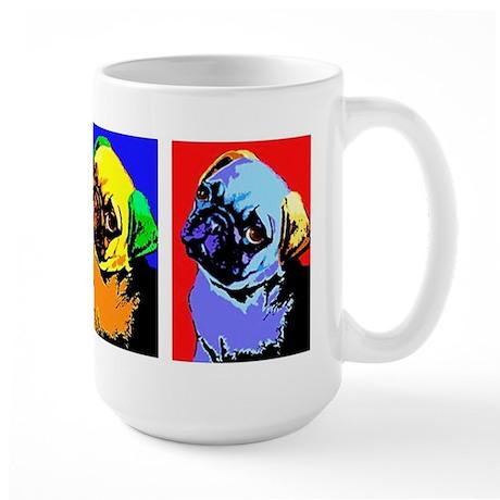 Pug Monroe Large Mug