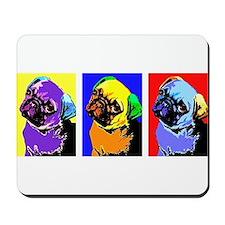 Pug Monroe Mousepad