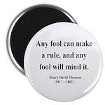 "Henry David Thoreau 11 2.25"" Magnet (10 pack)"