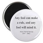 Henry David Thoreau 11 Magnet
