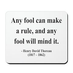 Henry David Thoreau 11 Mousepad
